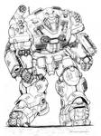 RIFTS NG Beach Master Robot