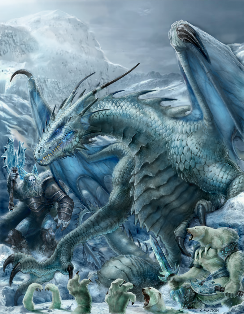 RIFTER 64 Palladium Fantasy Ice Dwellers painted by ChuckWalton