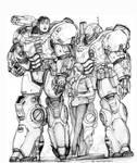 RIFTS NG Delilah Power Armor