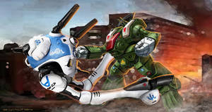 ROBOTECH RPG Tactics Hand to Hand Attacks