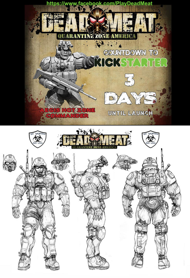 DEADMEAT AEGIS HOT ZONE Commander by ChuckWalton