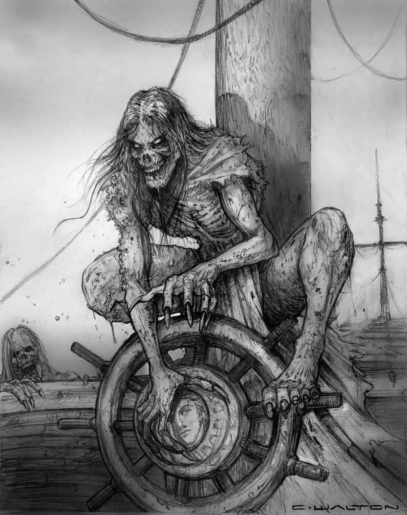 Sea Ghoul for Palladium Fantasy RPG by ChuckWalton