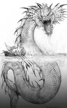 Palladium Fantasy Jormund Serpent