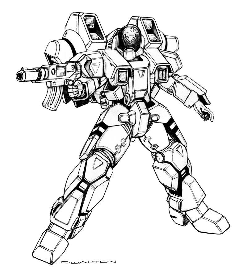 robotech walker cyclone battloid by chuckwalton on deviantart
