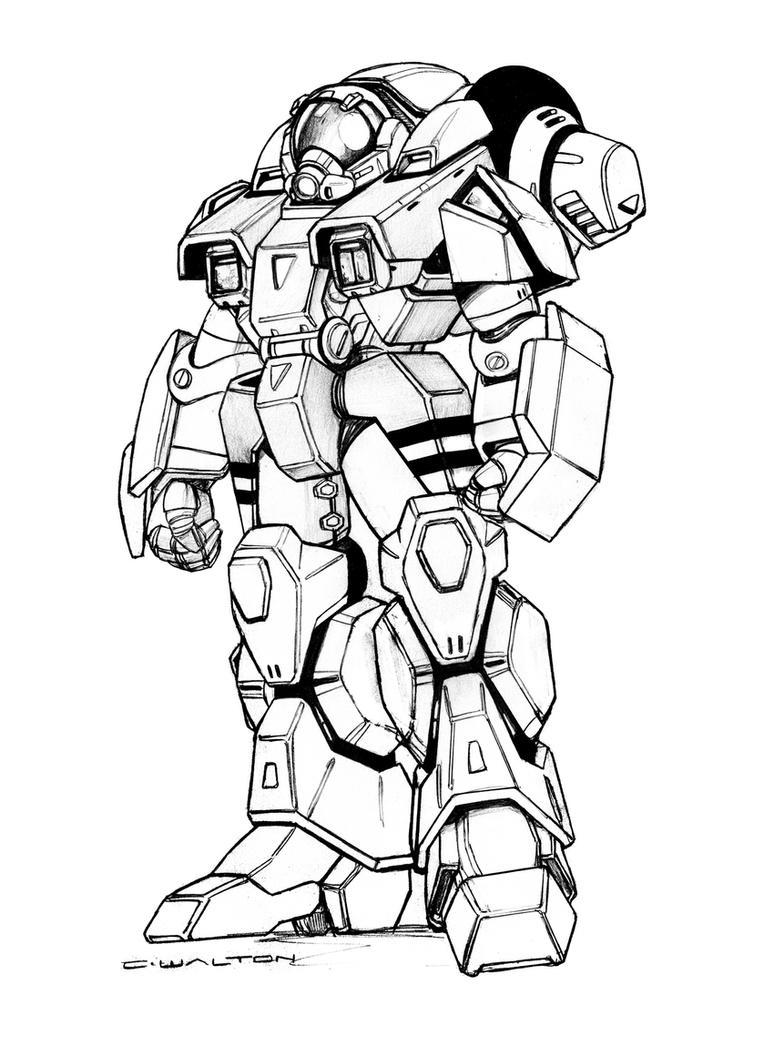 robotech vr 011 rifleman cyclone battloid by chuckwalton