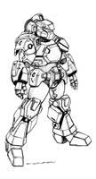 Robotech CVR-2 Space Combat Armor