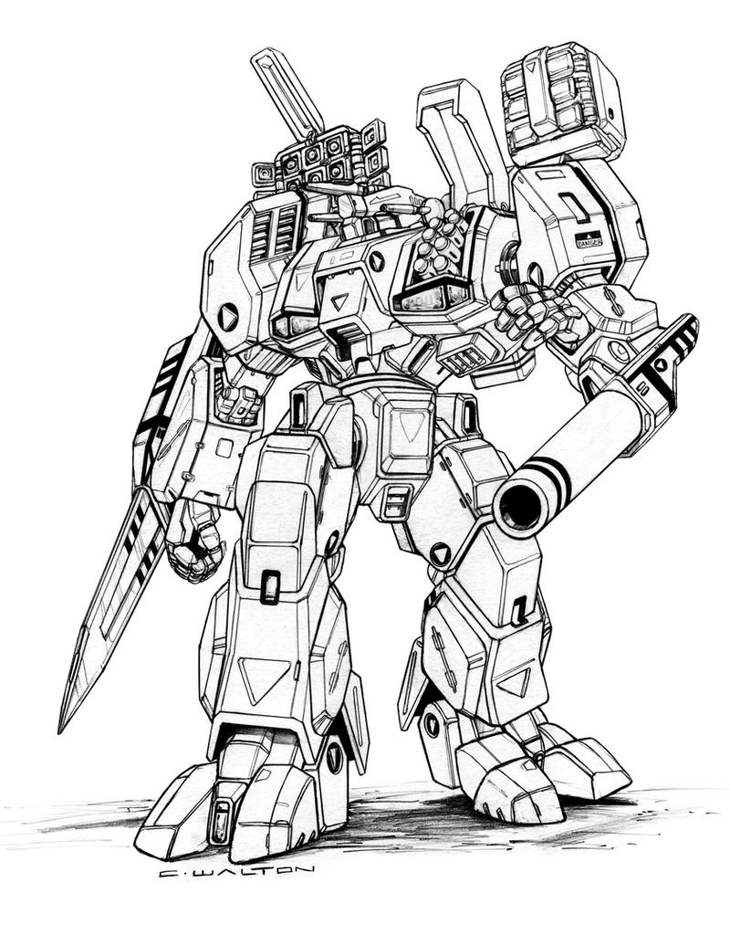 robotech mbr 05 mk x tomahawkdestroid by chuckwalton on