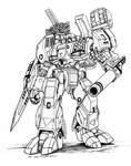 Robotech MBR 05 Mk X TomahawkDestroid