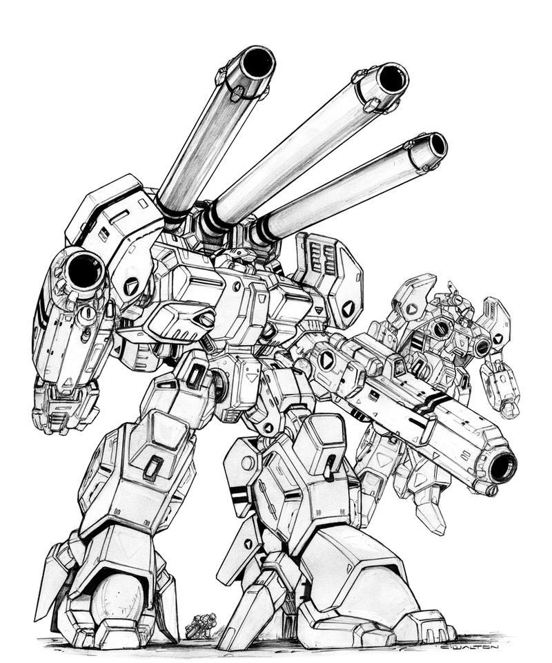 ROBOTECH HWR 02 Mk. VII Monster Destroid