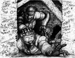 Rifts Chaos Earth Boogeyman Zombie by ChuckWalton