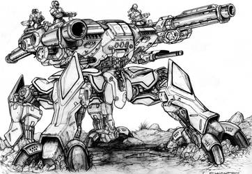 Fusion Borg - half gray by ChuckWalton