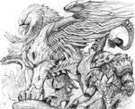 Splicers GRIFFIN War Mount