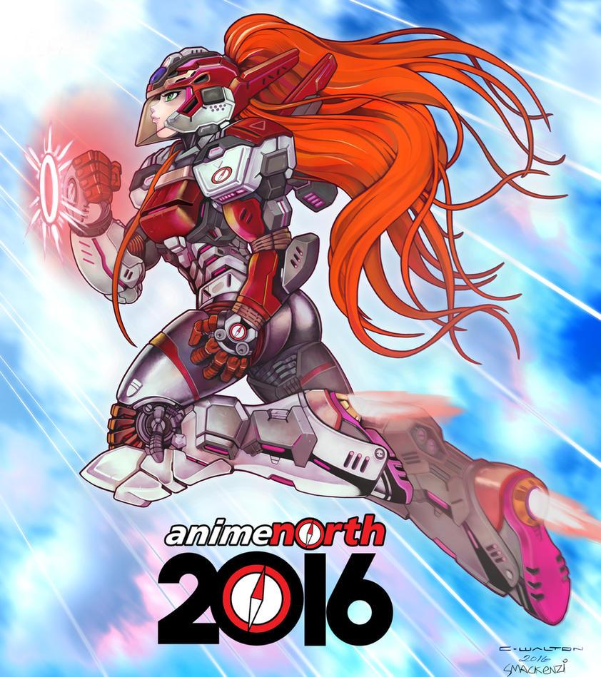 Anime North: ANIME NORTH 2016 MOMIJI Power Armor By ChuckWalton On