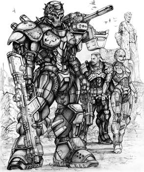 RIFTSEnforcer and Infiltrator borg with CS Deadboy