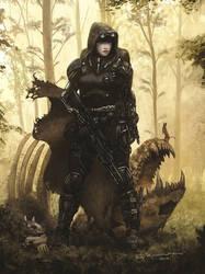 Rifts Wilderness Scout Preview by ChuckWalton