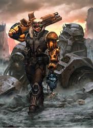 Rifts Head Hunter Preview by ChuckWalton