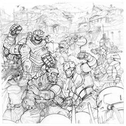 Rifts Board Game Box Cover Pencils