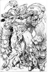 SPLICERS Legion Terror Hulk by ChuckWalton