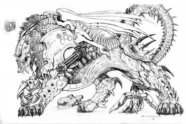 SPLICERS Legion Manticore by ChuckWalton