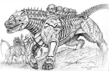 Legion War Hound by ChuckWalton