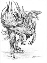 SPLICERS Razor Demons by ChuckWalton