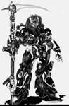 The Naruni Reaper Combat Mecha