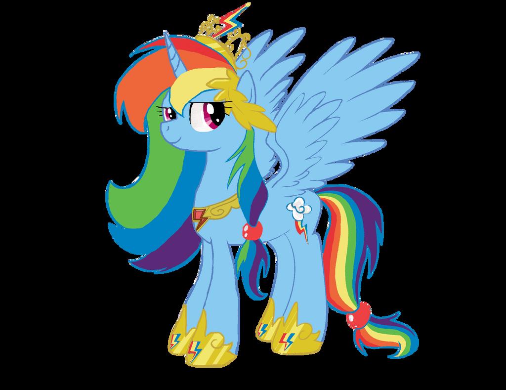 Princess Rainbow Dash by horsefan999 on DeviantArt