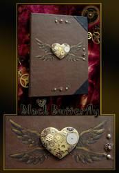 steampunk notebook by Si3art