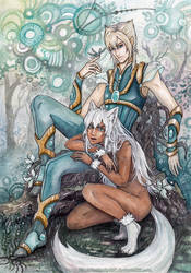 SS:Eris and Luca by Si3art