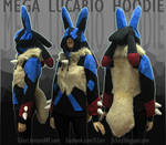 Pokemon MEGA LUCARIO Hoodie