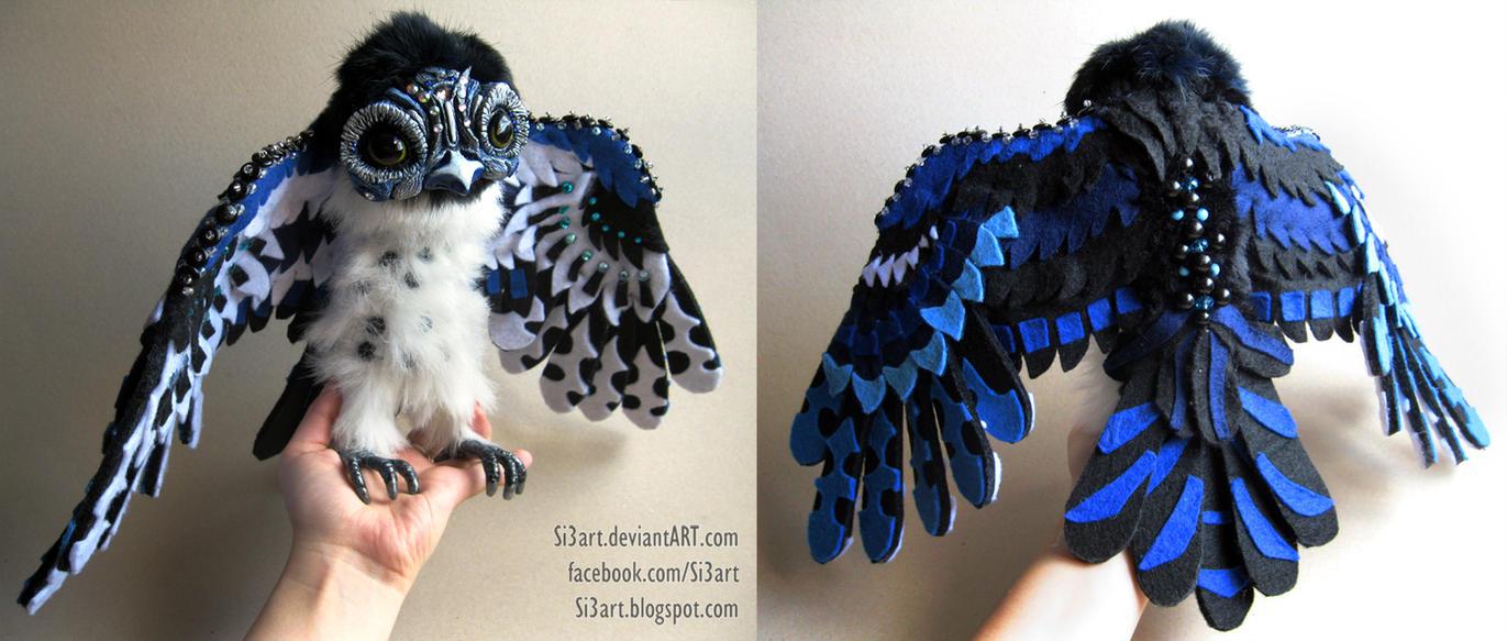 FANTASY OWL artdoll by Si3art