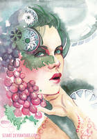 Sour Grapes by Si3art