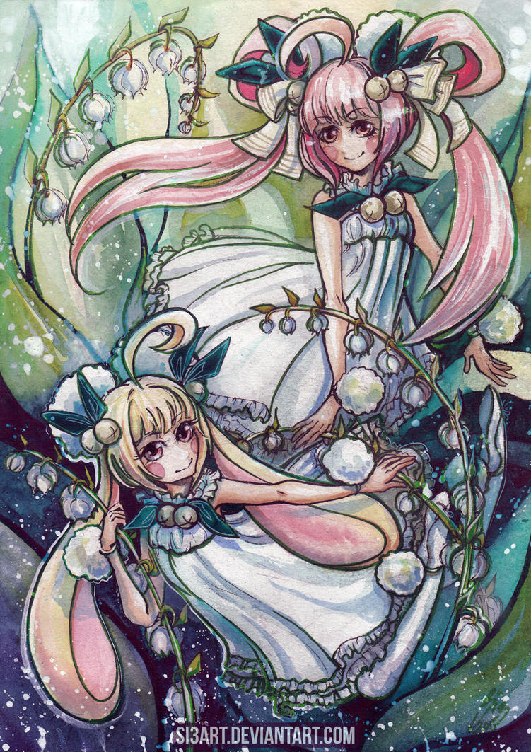 Fumiko and Umeko by Si3art