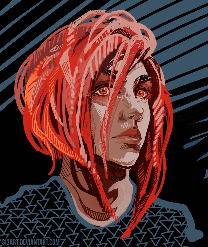RedHead by Si3art