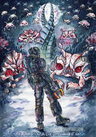 Dead Space Invaders by Si3art