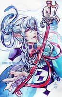 Ferid Bathory by Si3art