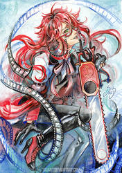 Grell Sutcliff by Si3art