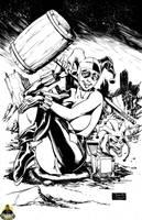 Harley Quinn by MonsterBoxstudio