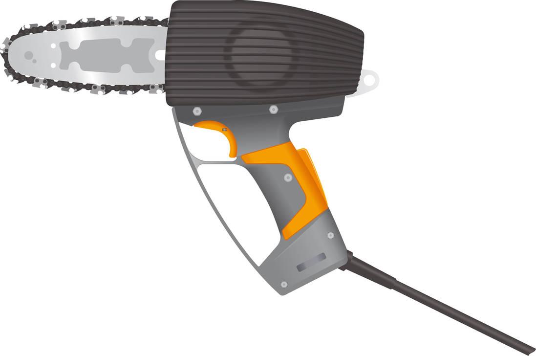 Pellenc M12 Chainsaw 2 by BolFAB