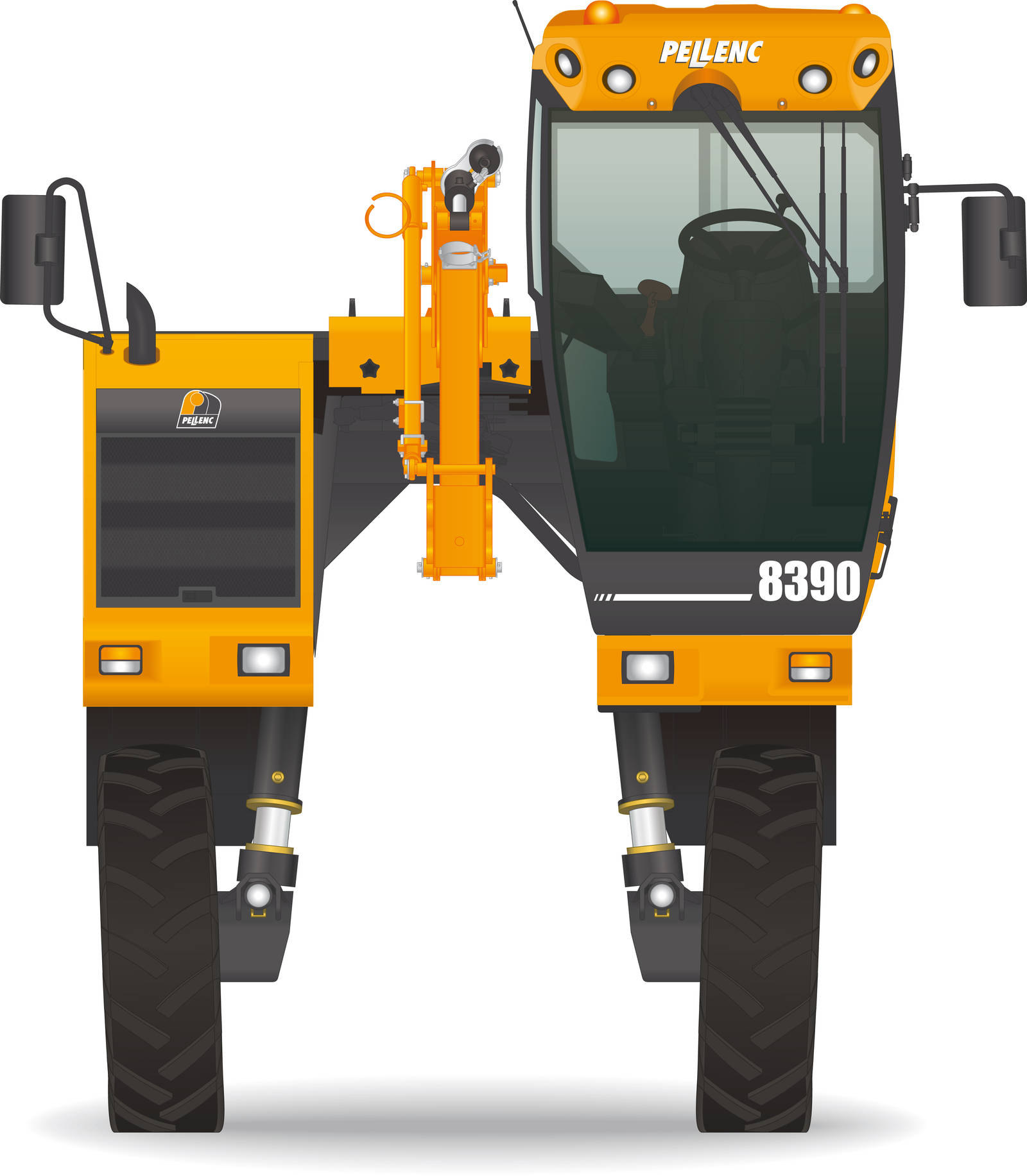 Pellenc Tractor 2 by BolFAB