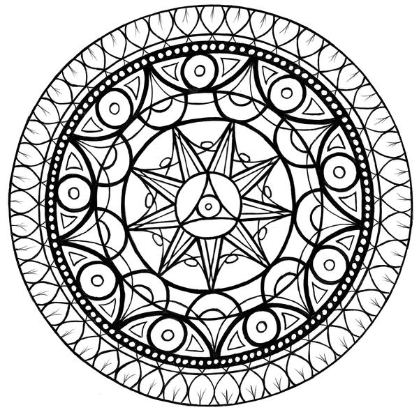 Mandala 6 by Samishii-Kami