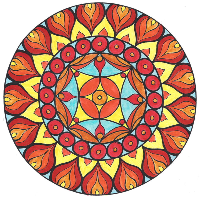 Mandala 4 Color by Samishii-Kami