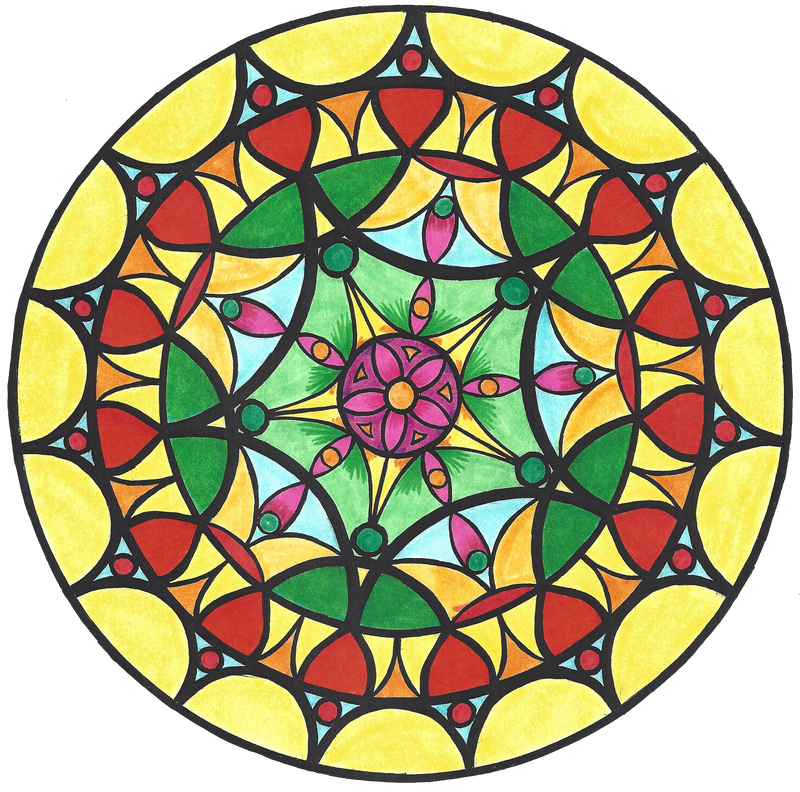 Mandala Color 5 by Samishii-Kami