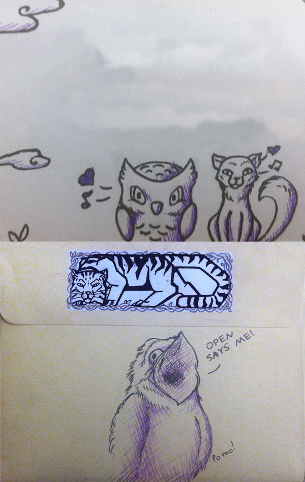Stacey Envelope by Samishii-Kami