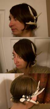 Antler Headpiece by Samishii-Kami