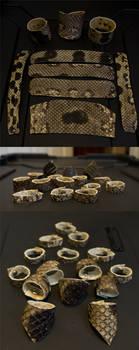 Anaconda Skin Jewelry by Samishii-Kami