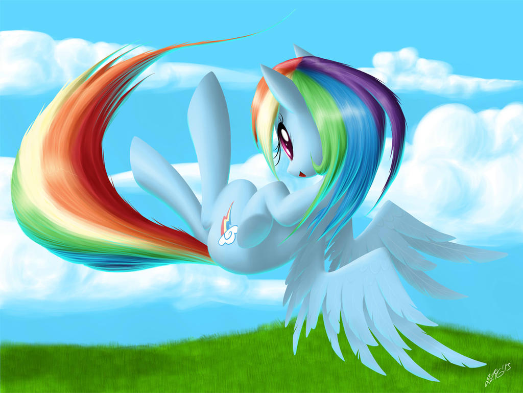 Rainbow Dash by ZiG-WORD