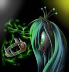 Chrysalis and crown Sombra
