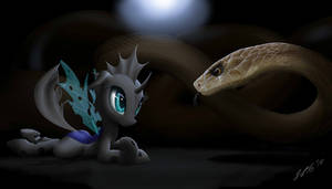 Changeling and the snake