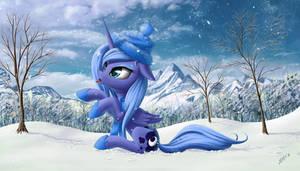 Princess Luna ebashit snow